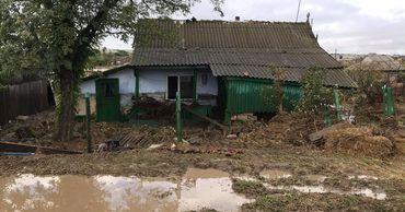 Наводнение в Комрате: 8 домов непригодны для проживания. Фото: nokta.md.