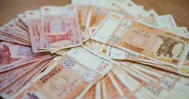 Бюджетные ассигнования на покрытие дефицита соцфонда превысили 2,860 млрд леев.