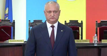 Игорь Додон баллотируется на второй президентский срок.