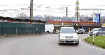 Водители маршруток не останавливаются на развязке у Северного вокзала.
