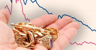 Молдавский рынок драгметаллов более чем вдвое снизил темпы продаж. Фото: Point.md.