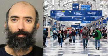Американец три месяца жил в аэропорту Чикаго из-за боязни пандемии. Фото: Point.md.