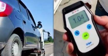 Инструктора автошколы поймали пьяным за рулем. Коллаж: Point.md