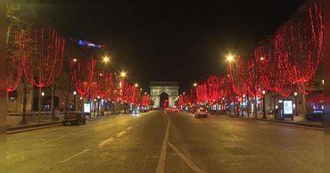 В европейских столицах встретили Новый год.