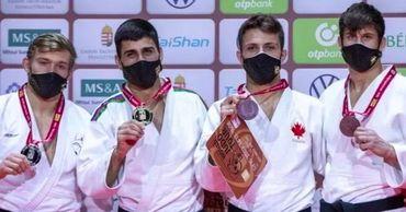 Молдавский дзюдоист стал бронзовым призером престижного турнира в Будапеште.