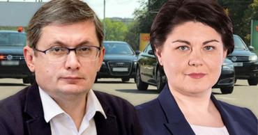 Игорь Гросу и Наталья Гаврилица получили госохрану. Коллаж: Point.md