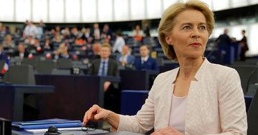 Избранная глава Еврокомиссии Урсула фон дер Ляйен.