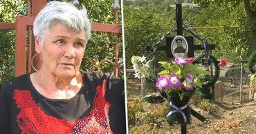 Жительница Пересечино продает землю в огороде под могилы. Коллаж: Point.md