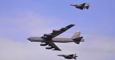 США перебросили в Европу стратегические бомбардировщики.