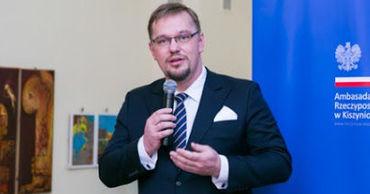 Посол Польши в Республике Молдова Бартоломей Зданюк.