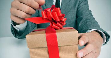 Стоимость подарков чиновникам не должна будет превышать 1000 леев в течение года.