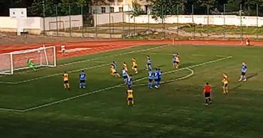 Комратский «Олимп» сыграл свой первый матч в Дивизии А. Фото: gagauzinfo.md.