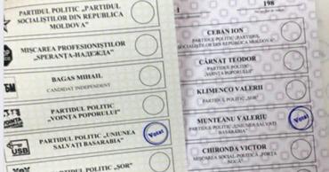 Граждане сфотографировали и затем демонстративно опубликовали в интернете избирательные бюллетени.