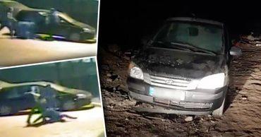 Юные грабители из Яловен продали угнанный  автомобиль за 500 евро.