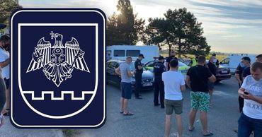 После вмешательства полиции трасса была разблокирована.