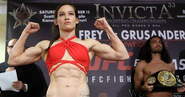 Названа самая привлекательная девушка-боец MMA.