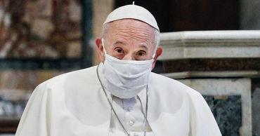 Папа римский предрек новый Всемирный потоп.