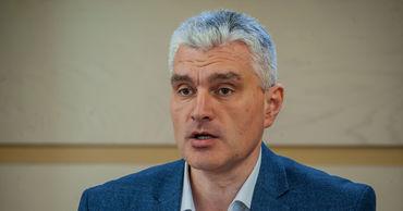 Вице-председатель политической платформы «Достоинство и правда» Александр Слусарь.