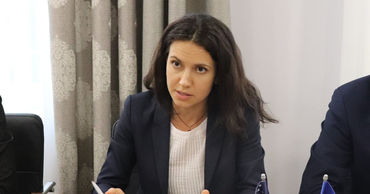 Министр юстиции Олеся Стамате.