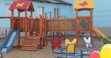 """""""Шор"""": Построена детская площадка в селе Мусаиту Тараклийского района."""