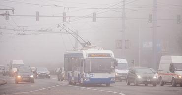 В четверг жителей Молдовы ожидает пасмурная погода и густой туман.