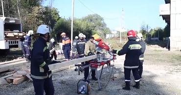 Польские спасатели обучали молдавских коллег.