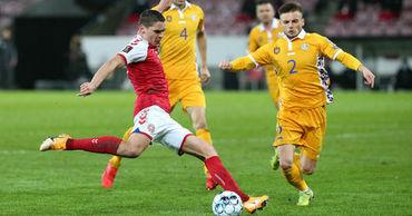 Молдавские футболисты хотят смыть позор от поражения в матче против Дании.