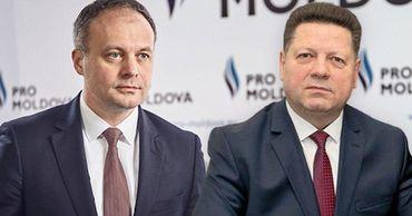 Андриан Канду по-прежнему считает Штефана Гацкана  депутатом Pro Moldova. Коллаж: Point.md