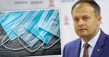 Депутаты из Pro Moldova просят минздрав объясниться относительно цен на маски. Фото: Point.md