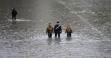 Венеция: вода несколько спала, тревожное положение остается в силе.