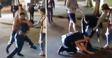 В столичном секторе Ботаника мужчина напал на полицейского.