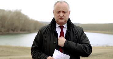 """Додон жителям Приднестровья: """"Я - ваш самый большой друг""""."""
