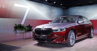 У BMW 7 серии появилась роскошная двухцветная версия