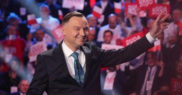Дуда переизбран президентом Польши на второй срок