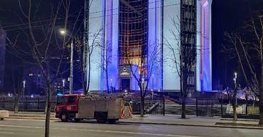 Мужчина сообщил, что в здании президентуры заложена бомба