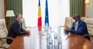 Ион Кику провёл встречу с послом США.