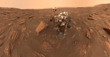 Curiosity нашел следы мегапаводков на Марсе. Фото: ukrinform.ru.