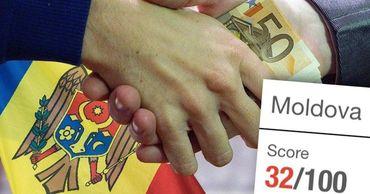 Молдова опустилась в рейтинге Индекса восприятия коррупции. Фото: Point.md