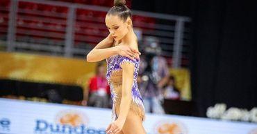 Молдавская гимнастка Анастасия Закревски стала мастером спорта в 17 лет.