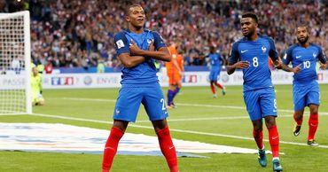 Тренер сборной Франции представил состав на матч с Молдовой.