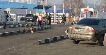 Украина решила закрыть три КПП на границе с Молдовой.