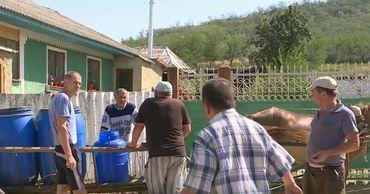 Жители села Солтэнешты в отчаянии из-за дефицита воды.