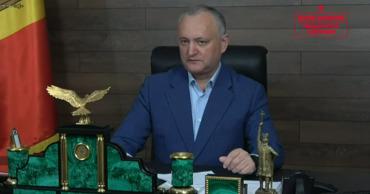 Лидер ПСРМ Игорь Додон.