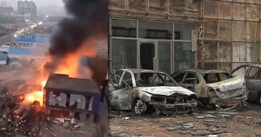 В Китае при взрыве на газопроводе погибли три человека. Фото: Point.md.