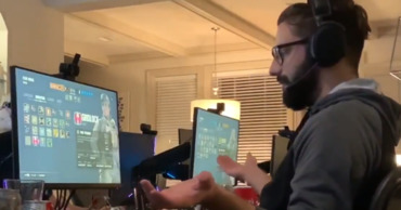Блогер разыграл геймера с помощью беспроводной мыши.