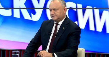 Додон о коалиции с ДПМ: Плахотнюку невыгодно новое правительство.