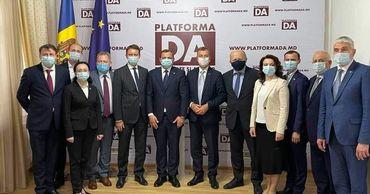 Члены Платформы DA встретились с делегацией Европарламента.