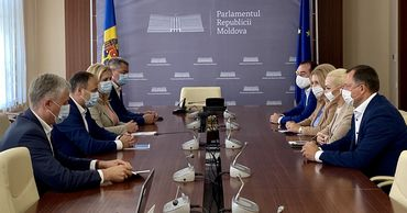 """Pro Moldova и партия """"Шор"""" обсудили необходимость отставки правительства."""