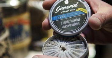В США можно рекламировать жевательный табак: менее вреден, чем сигареты