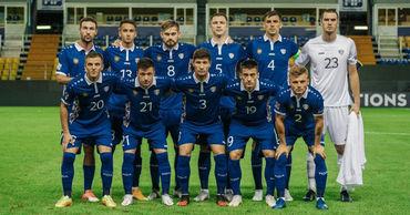 Сборная Молдовы сыграла вничью с командой из Косово.